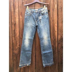 NWT Zara 70's Flare Jeans sz 6